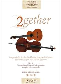 2gether: Selected Pieces From The Classical Repertoire For Cello & Guitar