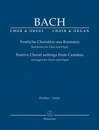 Festive Choral Settings From Cantatas: Vocal Score