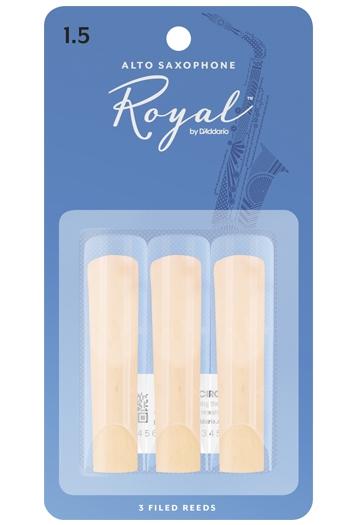 Royal Alto Saxophone Reeds 3 Pack