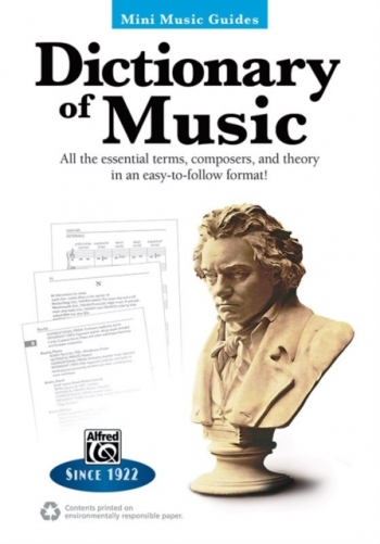 Alfred Mini Music Guides:  Dictionary Of Music