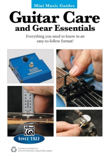Alfred Mini Music Guides:  Guitar Care