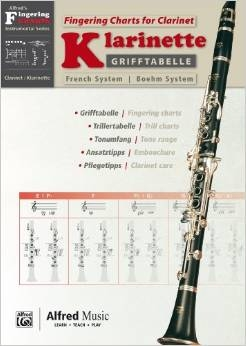Fingering Chart: Clarinet (Alfred/Grifftabelle)
