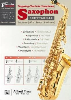 Fingering Chart: Saxophone (Alfred/Grifftabelle)