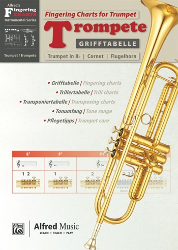 Fingering Chart: Trumpet  (Alfred/Grifftabelle)
