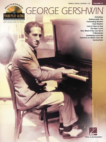 Piano Play Along George Gershwin Vol 71 Book & Cd