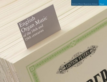 English Organ Music Of The 18th And 19th Centuries (Peters)