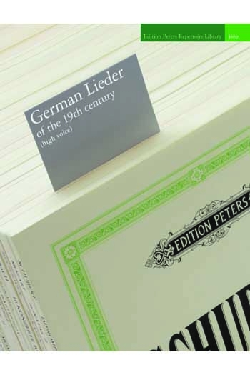 German Lieder Of The 19th Century: High Voice & Piano (Peters)