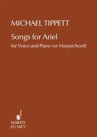 Songs For Ariel Medium Voice And Piano