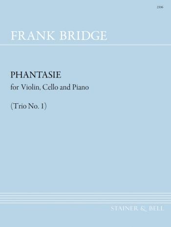 Piano Trio No. 1 (Phantasie In C Minor). Violin Cello & Piano