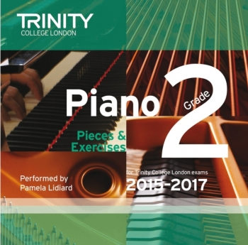 Trinity College London Piano Examination Pieces & Exercises Piano Grade 2 CD Only