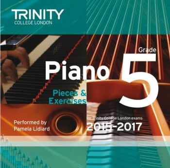 Trinity College London Piano Examination Pieces & Exercises Piano Grade 5 CD Only