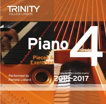 Trinity College London Piano Examination Pieces & Exercises Piano Grade 4 CD Only