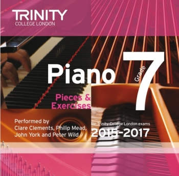 Trinity College London Piano Examination Pieces & Exercises Piano Grade 7 CD Only