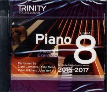 Trinity College London Piano Examination Pieces &  Exercises Piano Grade 8 CD Only