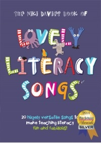 The Niki Davies Book Of Lovely Literacy Songs Ages 3-7 Vocal: Book & Cd