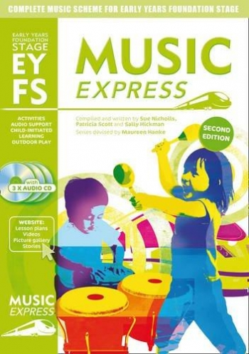 MUSIC EXPRESS Early Years Foundation Stage + CDs*