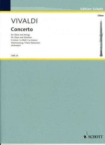 Vivaldi: Concerto: A Minor: Rv461: Oboe & Piano