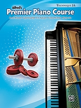 Alfred Premier PIano Course Technic Book: Level 2a