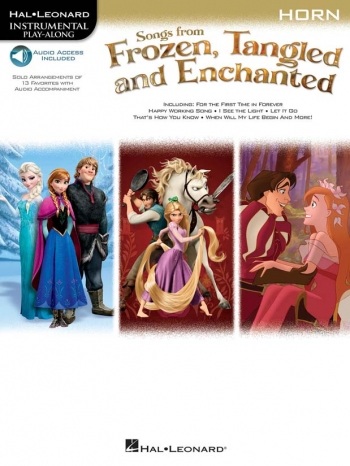 Songs From Frozen, Tangled And Enchanted: French Horn (Book/Online Audio)