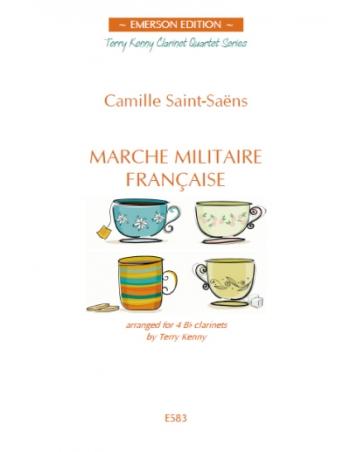Marche Militaire Francasie: 4 Bb Clarinets