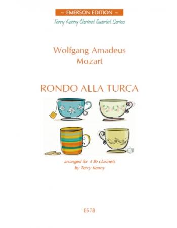 Rondo Alla Turca: 4 Bb Clarinets