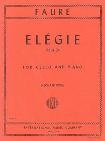 Elegy: Cello And Piano(International)