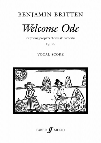Welcome Ode SAB  & Piano (Faber)