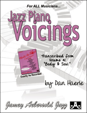 Aebersold: Jazz Piano Voicings Vol 41 Body & Soul