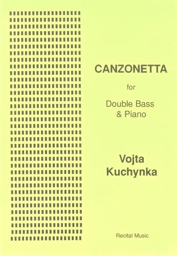Canzonetta: Double Bass & Piano