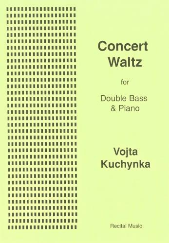 Concert Waltz: Op28: Double Bass & Piano