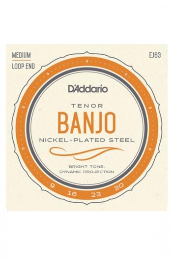 D'Addario Tenor Banjo Strings EJ63 Nickel Wound Medium 9-30