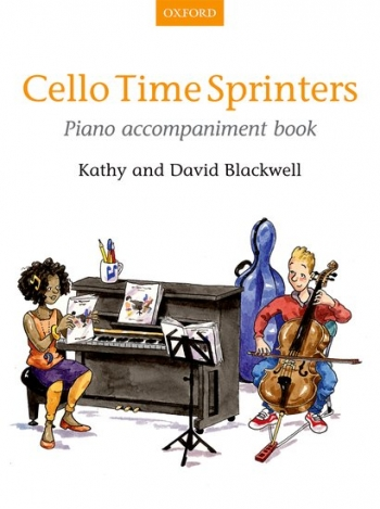Cello Time Sprinters Book 3 Piano Accompaniment (Blackwell) (Oxford)