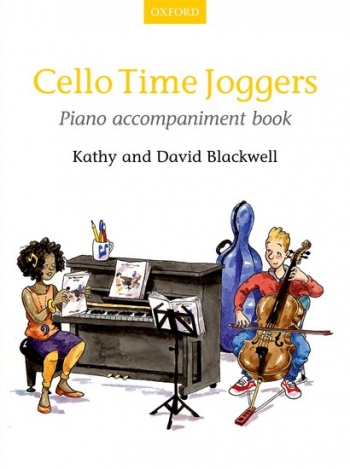 Cello Time Joggers Book 1 Piano Accompaniment (Blackwell)  (Oxford)