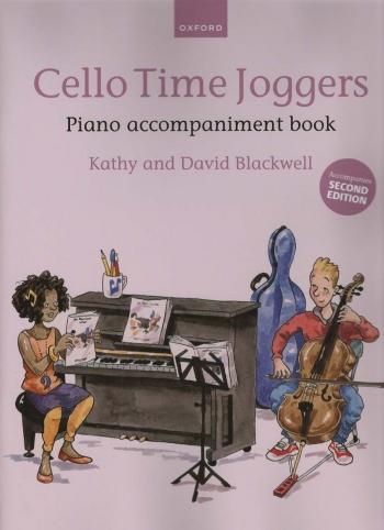 Cello Time Joggers Book 1 Piano Accompaniment (Blackwell)  (Oxford)