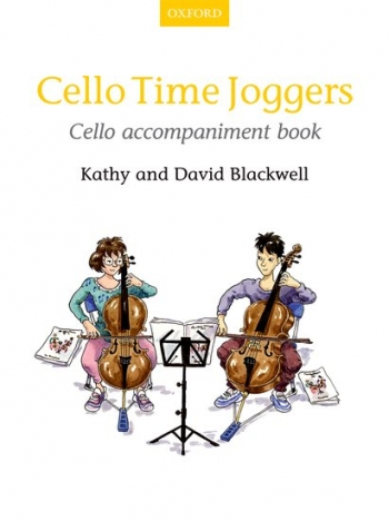 Cello Time Joggers Book 1 Cello Accompaniment (Blackwell)  (Oxford)