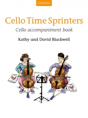Cello Time Sprinters Book 3 Cello Accompaniment (Blackwell)  (Oxford)