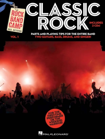 Rock Band Camp Volume 1: Classic Rock Parts & 2 Cds
