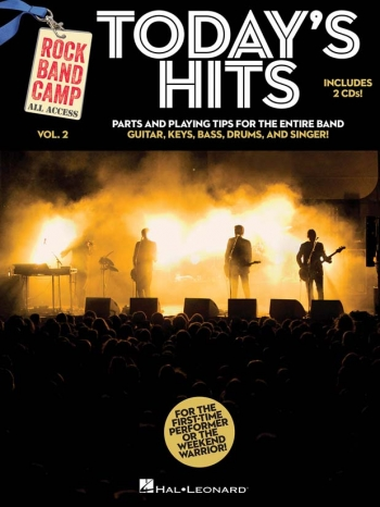 Rock Band Camp Volume 2: Today's Hits Parts & 2 Cds