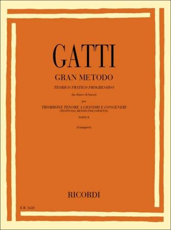 Gran Metodo Teorico Pratico Progressivo Parte II: Trombone