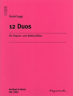 12 Duos Descant And Treble Recorder