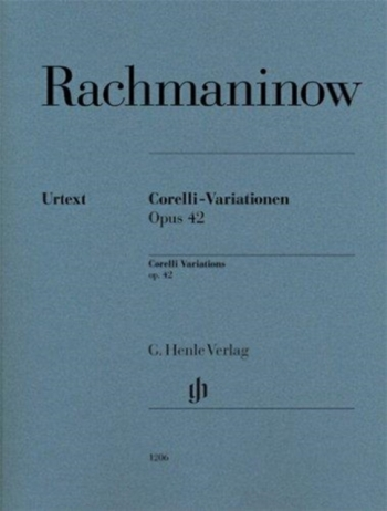 Corelli Variations, Op. 42 Piano Solo (Henle)