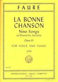 Bonne Chanson: Vocal: Low Voice & Piano