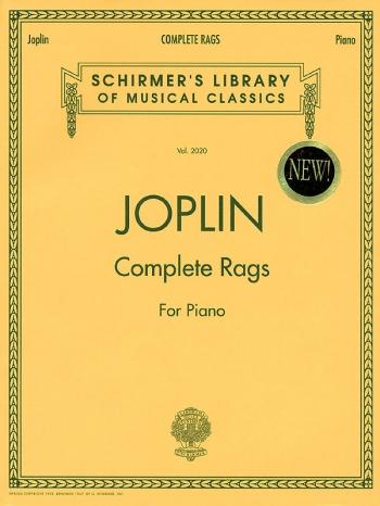 Scott Joplin Complete Piano Rags - Piano (Schirmer)