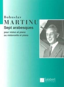 Sept Arabeques: Violin Or Cello & Piano