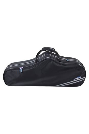 Tenor Sax Case: Gig Bag: Shaped: Black: Champion