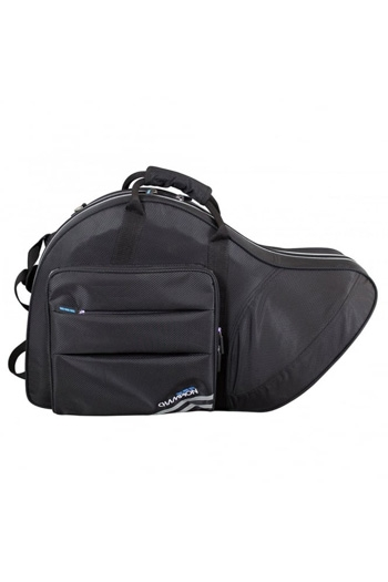 Champion French Horn Fixed Bell Gig Bag - Black