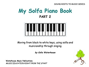 My Solfa Piano Book Part 2 (Celia Waterhouse)