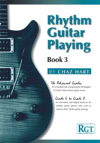 Registry Of Guitar Rhythm Guitar Playing Book 3 Grades 6-8 Hart LCM Lcm