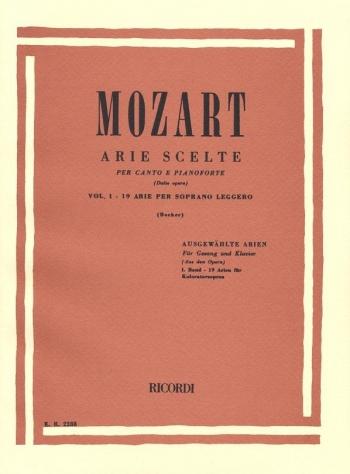 Arie Scelte Vol.1: 19 Arie Per Soprano Leggero (ricordi)