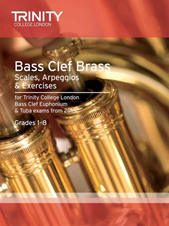 Trinity College London College Bass Clef Brass Scales And Exercises